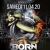 affiche BORN TO RAVE - 2 STAGES - Hard Music !